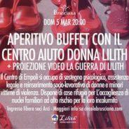 Aperitivo Buffet con il Centro Aiuto Donna Lilith